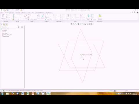 Creo Parametric Tutorial 1 - Solid Modeling Part 1