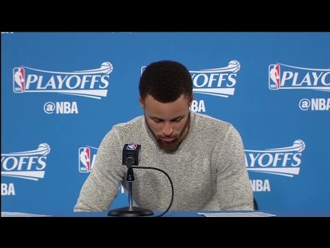 Stephen Curry Press Conference Following Game 2 Win