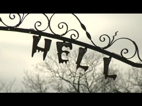 SO COLD THAT HELL FROZE OVER. THAT'S HELL, MICHIGAN - BBC NEWS