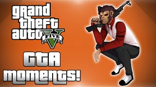 GTA 5 Online! - Lui Calibre OP, Mario Kart, Jet Fun & More! (Mission & Race Funny Moments)