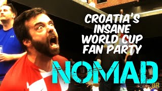 Gambar cover Croatia's Insane World Cup Celebration, Victory Party, Beer Garden, Beats England