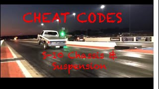 "Suspension SECRETS!  A look under ""Billy The Kid""'s S-10"