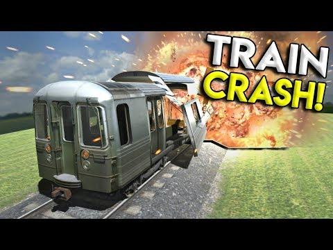 HUGE SUBWAY TRAIN CRASH & MORE! - Disassembly 3D Gameplay - EP 5