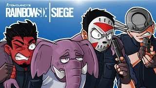 Rainbow Six: Siege - Saving Gorillaphent Life! (2 Full Matches!)