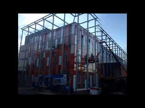 Construction of the Cardiff University Hadyn Ellis Building