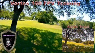 RAW FOOTAGE | Vortex 180 Vacation Flight | DEATHRAT69 flies Racing Quadcopter in Austin Texas
