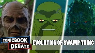 Evolution of Swamp Thing in Cartoons Movies amp TV in 9 Minutes 2019