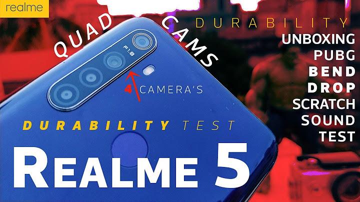 realme 5 durability review  quad cameras under 10k