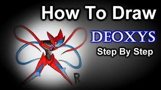 How To Draw Deoxys Step By Step