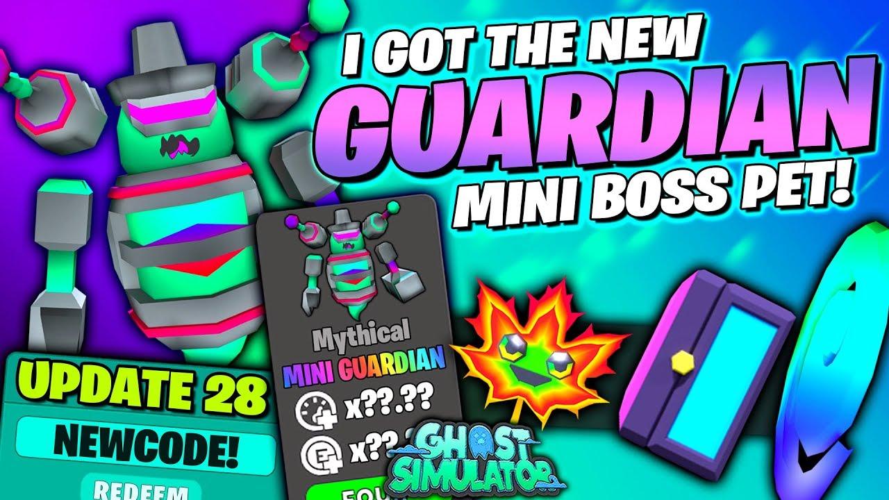 Got New Mini Guardian Boss Pet Boss Chest Friend Tp All