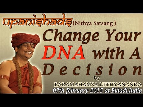 Change Your DNA with A Decision