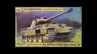 обзор модели немецкого среднего танка