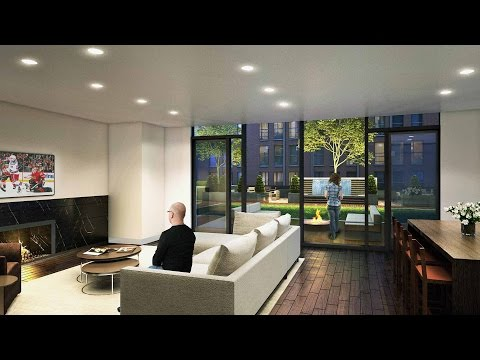 Tour a luxury 2-bedroom, 2-bath at Lakeview's new 2950 North Sheridan