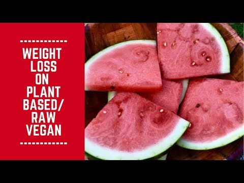 Weight Loss on Plant Based/ Raw Vegan Lifestyle