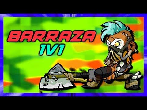 Fun Times Barraza Showcase • Brawlhalla 1v1 Gameplay
