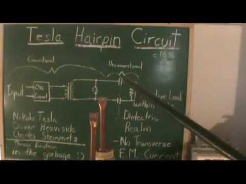 Tesla Hairpin Circuit Radiant Energy Examined