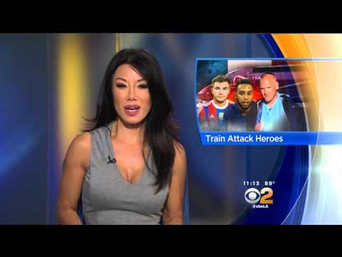 Sharon Tay 2015/08/24 CBS2 Los Angeles HD