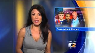 Sharon Tay 2015/08/24 CBS2 Los Angeles HD