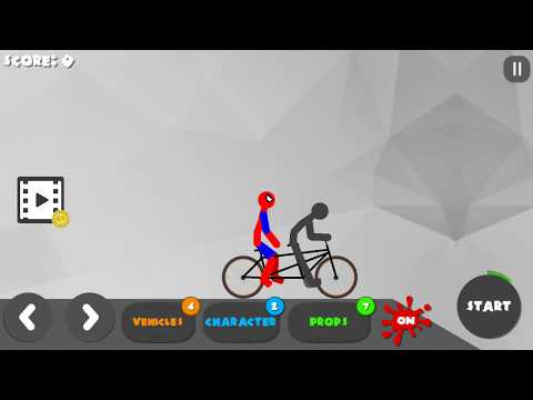 Stickman Destruction 3 Heroes Spiderman Walkthrough Part 17 / Android Gameplay HD