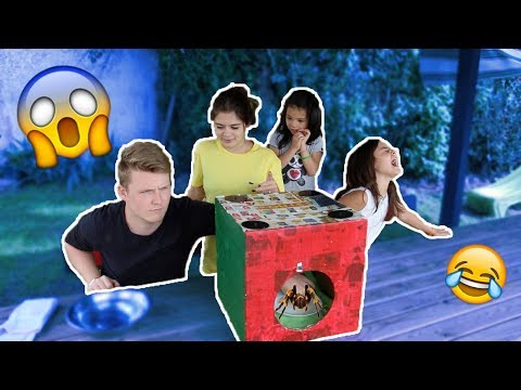 WHAT'S IN THE BOX CHALLENGE W/ SISTERS !