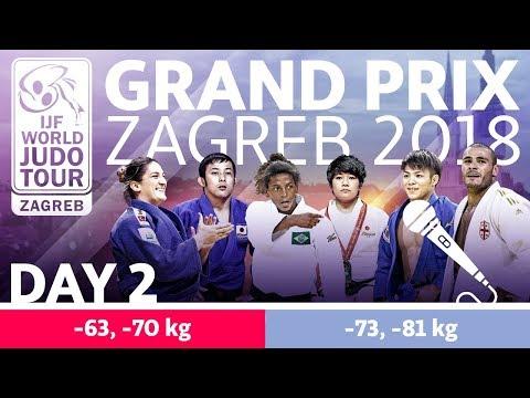 Judo Grand-Prix Zagreb 2018: Day 2