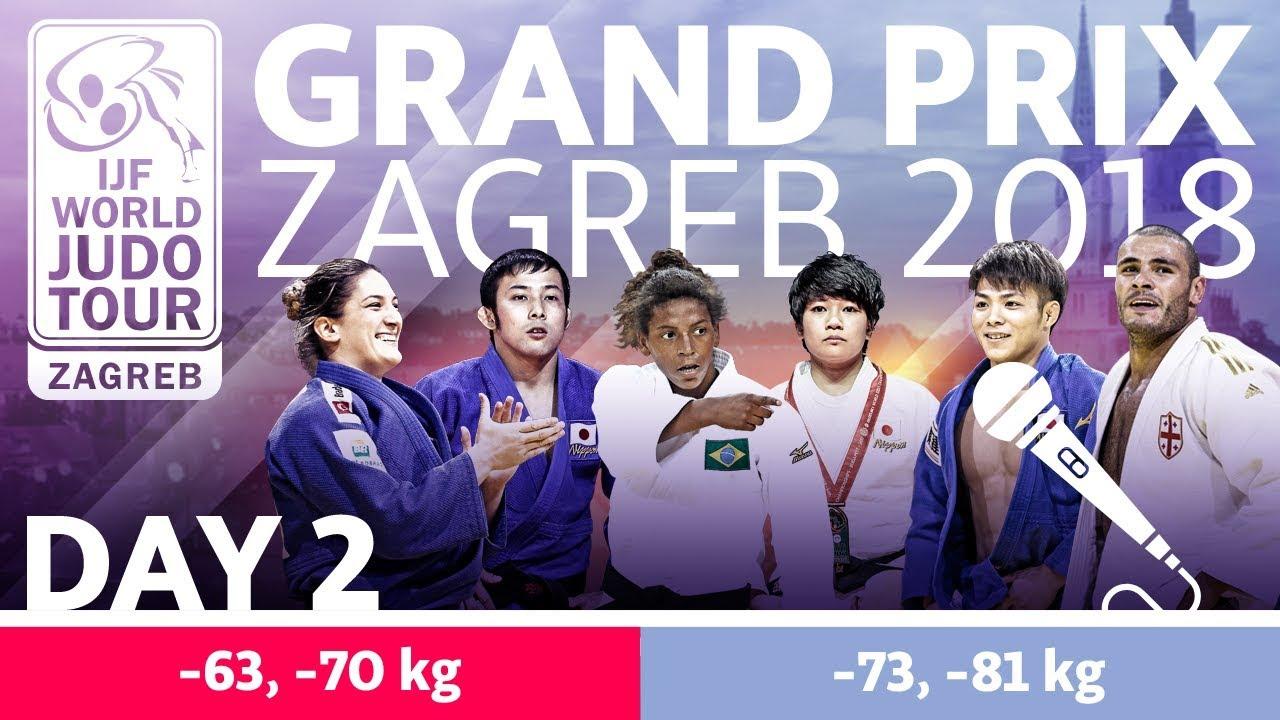 Judoinside Video Ijf Feed Prelims Day 2 Grand Prix Zagreb 2018