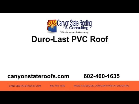 Duro-Last PVC Roof | Canyon State Roofing
