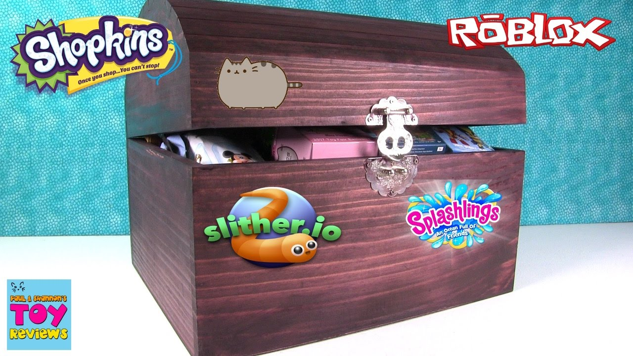 Simons Blind Bag Treasure Chest 41 Opening Slither Io