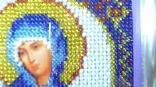 Обзор вышитой иконы  святая мученница Маргарита