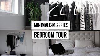MONOCHROME MINIMALIST ROOM TOUR MINIMALISM SERIES