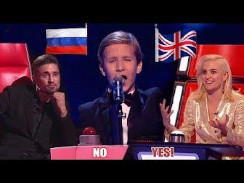 Наш русский мальчик покорил британское шоу «Голос Дети». Судьи в шоке от его голоса