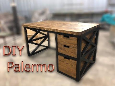 ПИСЬМЕННЫЙ СТОЛ мебель LOFT своими руками DIY