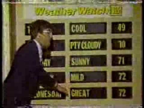 WNEP 16 Scranton PA  1984  Weather