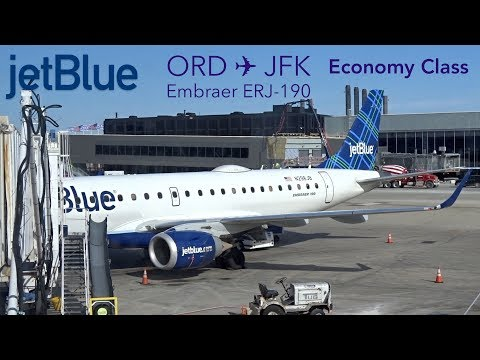 TRIPREPORT | jetBlue Airways | Chicago to New York | Embraer ERJ-190 | Economy Class Experience