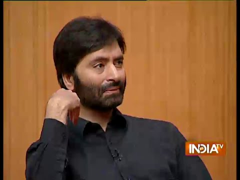 Yasin Malik Explains The Reason Behind Meeting With Hafiz Saeed - India TV