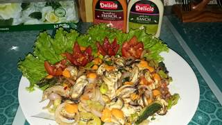 SEA FOOD MUSSELS DIVALOO | HOMEMADE BY MUSSEL DIVALOO