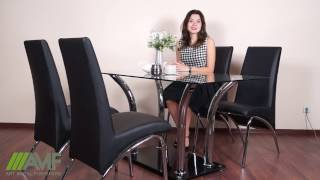 Стол обеденный Лилия ROT-41. Обзор стола для кухни от amf.com.ua