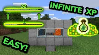 NEW SIMPLE 1.17 XṖ FARM TUTORIAL in Minecraft Bedrock (MCPE/Xbox/PS4/Nintendo Switch/Windows10)