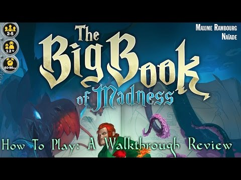 """How to play: The Big Book of Madness - A """"Walkthrough Review"""""""