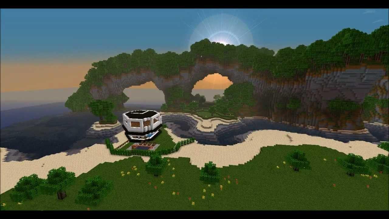 Minecraft modernes haus 1 2 5 download survival for Minecraft modernes haus download 1 7 2