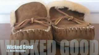 L L Bean Wicked Good Moccasins