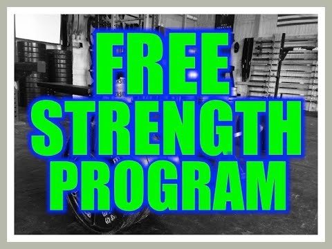 FREE STRENGTH PROGRAM! DARKHORSE