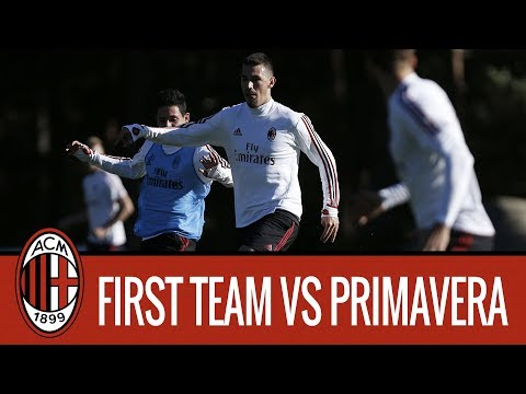 Highlights: First Team v Milan Primavera Friendly Match