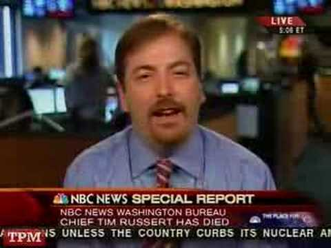 NBC's Chuck Todd Mourns The Death of Tim Russert