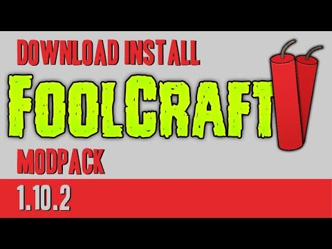 FOOLCRAFT MODPACK 1.10.2 minecraft - how to download and install FoolCraft (on Windows)