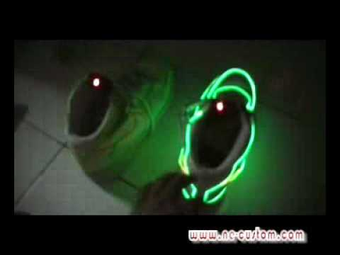 Nike Neon Light Up Shoes