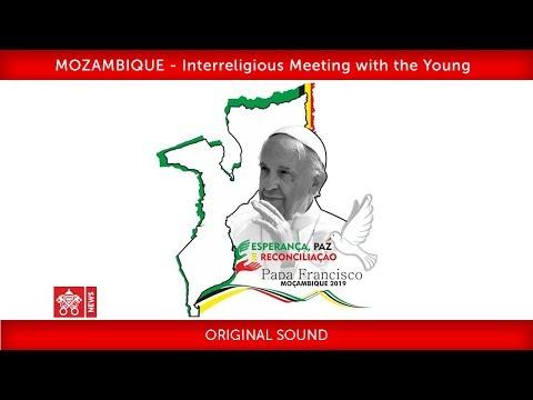 Pope Francis-Maputo-Interreligious Meeting 2019-09-05