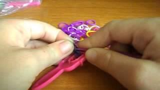 видео урок браслеты из резинок