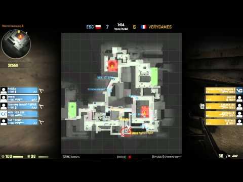 CS GO Mind Sports - ESC vs. VeryGames @ inferno