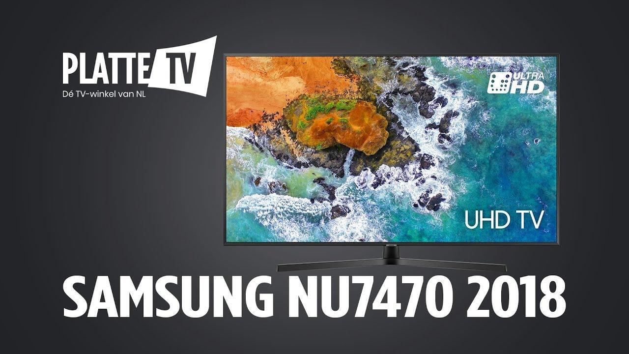 SAMSUNG NU7470 UHD TV - PlatteTV